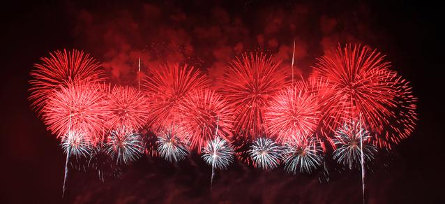 赤川花火大会ライブカメラは、山形県鶴岡市の赤川河畔(羽黒橋~三川橋)に設置された赤川花火大会が見えるライブカメラです。