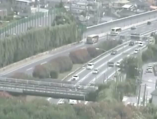 中国自動車道宝塚東トンネルライブカメラ(兵庫県宝塚市清荒神)