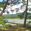 木崎湖キャンプ場ライブカメラ(長野県大町市平森)
