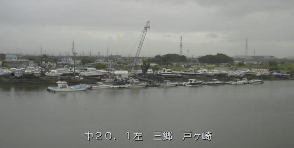 中川三郷戸ケ崎ライブカメラは、埼玉県三郷市戸ケ崎の三郷戸ケ崎に設置された中川が見えるライブカメラです。