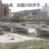 広瀬川広瀬橋水位観測所ライブカメラ(宮城県仙台市若林区)