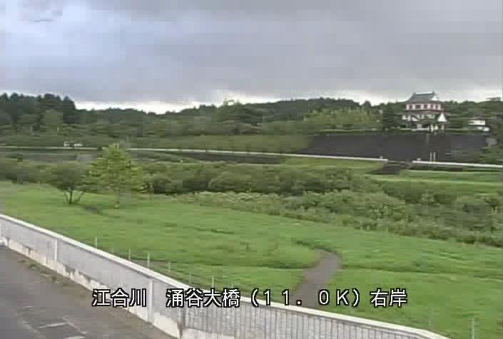 江合川涌谷大橋ライブカメラは、宮城県涌谷町立町の涌谷大橋に設置された江合川が見えるライブカメラです。