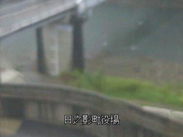 五ヶ瀬川日之影町役場ライブカメラは、宮崎県日之影町七折の日之影町役場に設置された五ヶ瀬川が見えるライブカメラです。