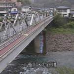 一ツ瀬川村所橋ライブカメラ(宮崎県西米良村村所)
