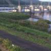 松田川河戸堰右岸下流ライブカメラ(高知県宿毛市中央)