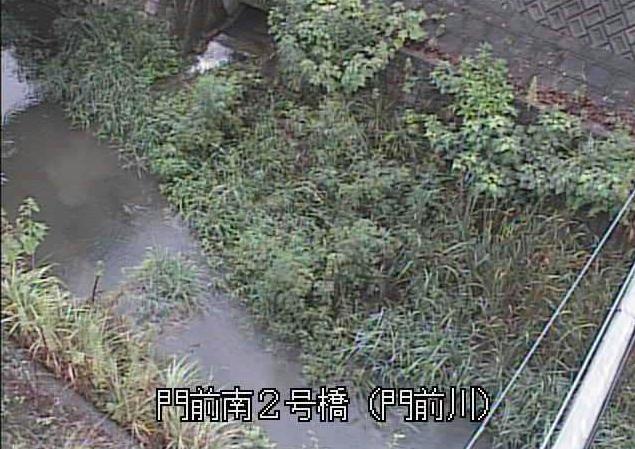 門前川門前南2号橋ライブカメラは、大分県佐伯市上岡の門前南2号橋(門前南二号橋)に設置された門前川が見えるライブカメラです