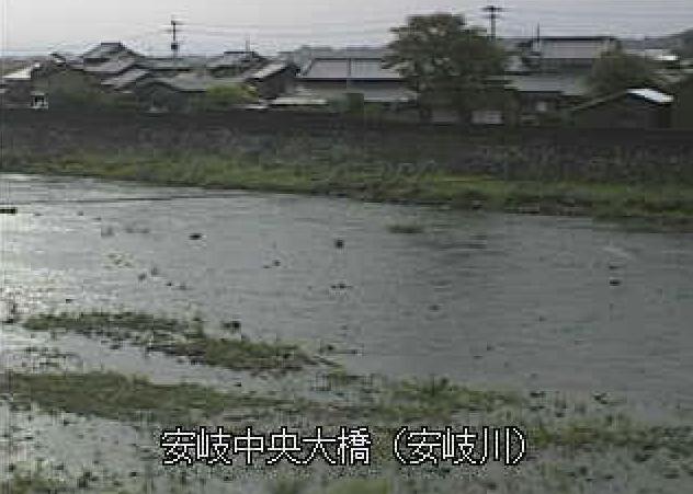 安岐川安岐中央大橋ライブカメラは、大分県国東市安岐町の安岐中央大橋に設置された安岐川が見えるライブカメラです。