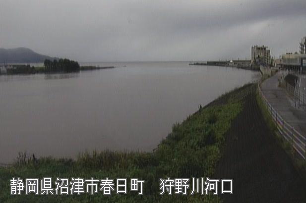 狩野川河口ライブカメラは、静岡県沼津市春日町の狩野川河口に設置された狩野川が見えるライブカメラです。