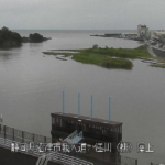 狩野川江川排水機場ライブカメラ(静岡県沼津市我入道)
