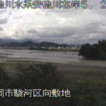 安倍川向敷地ライブカメラ(静岡県静岡市駿河区)