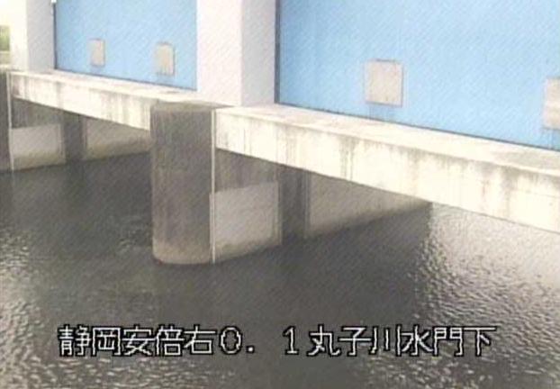 丸子川水門下流ライブカメラは、静岡県静岡市駿河区の丸子川水門下流に設置された丸子川が見えるライブカメラです。