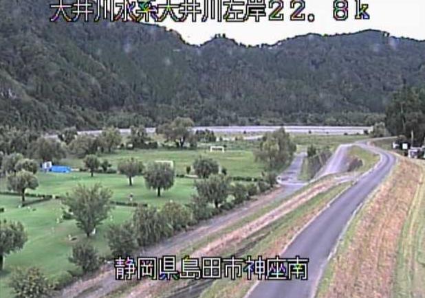 大井川神座南ライブカメラは、静岡県島田市神座の神座南に設置された大井川が見えるライブカメラです。