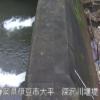 深沢川深沢砂防ダムライブカメラ(静岡県伊豆市大平)