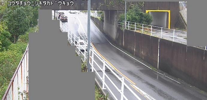 錦田ガードライブカメラは、愛知県幸田町菱池の錦田ガード(錦田架道橋)に設置された架道橋が見えるライブカメラです。