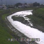 犬飼川並河橋観測所ライブカメラ(京都府亀岡市大井町)