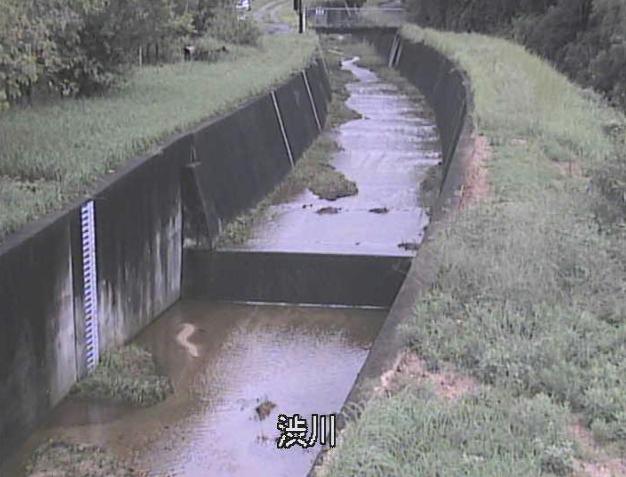 渋川水位観測所ライブカメラは、京都府井手町井手の渋川水位観測所に設置された渋川が見えるライブカメラです。