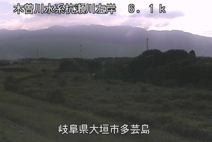 杭瀬川多芸島ライブカメラは、岐阜県大垣市多芸島の多芸島に設置された杭瀬川が見えるライブカメラです。
