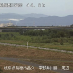 揖斐川平野井川排水機場ライブカメラ(岐阜県瑞穂市呂久)