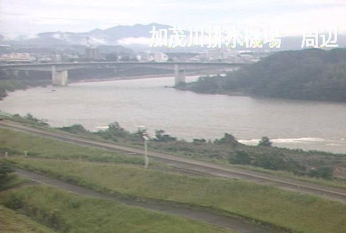 木曽川加茂川排水機場ライブカメラは、岐阜県坂祝町酒倉の加茂川排水機場に設置された木曽川が見えるライブカメラです。