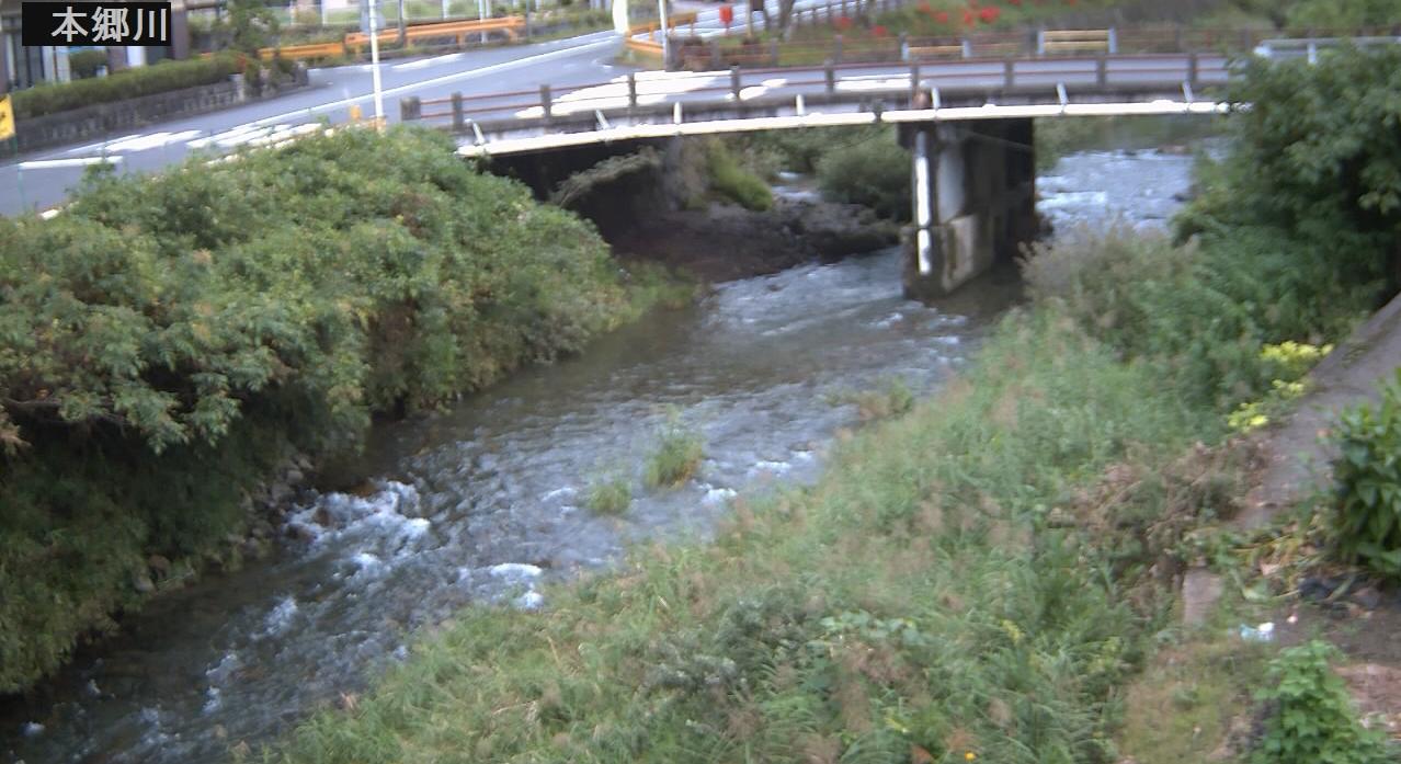 本郷川広瀬橋付近ライブカメラは、山口県岩国市錦町の広瀬橋付近に設置された本郷川が見えるライブカメラです。