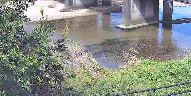 由宇川平和橋付近ライブカメラは、山口県岩国市由宇町の平和橋付近に設置された由宇川が見えるライブカメラです。