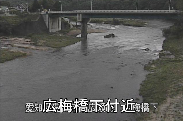 矢作川広梅橋ライブカメラは、愛知県豊田市東広瀬町の広梅橋に設置された矢作川が見えるライブカメラです。