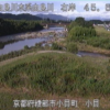 由良川小貝ライブカメラ(京都府綾部市小貝町)