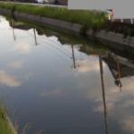 上碇川佐賀県道267号松尾佐賀停車場線橋梁ライブカメラ(佐賀県佐賀市鍋島町)
