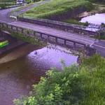 祖父川鵜川橋ライブカメラ(滋賀県竜王町鵜川)