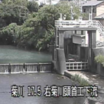 菊川菊川頭首工ライブカメラ(静岡県菊川市富田)