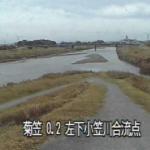 下小笠川菊川合流点ライブカメラ(静岡県掛川市海戸)