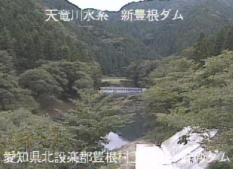 大入川貯砂ダムライブカメラは、愛知県豊根村下黒川の貯砂ダムに設置された大入川が見えるライブカメラです。