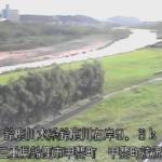 鈴鹿川甲斐町流況ライブカメラ(三重県鈴鹿市甲斐町)