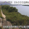 大瀬川隔流水門大瀬川側水路ライブカメラ(宮崎県延岡市昭和町)