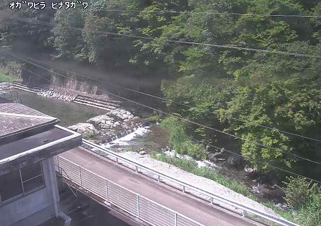 日向川小川平地区ライブカメラは、宮崎県日之影町の小川平地区に設置された日向川が見えるライブカメラです。