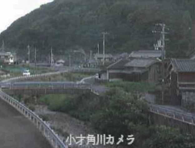 小才角川小才角ライブカメラは、高知県大月町小才角の小才角に設置された小才角川が見えるライブカメラです。