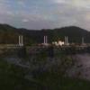 松田川河戸堰上流ライブカメラ(高知県宿毛市中央)