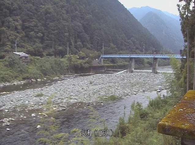 加茂川長瀬ライブカメラは、愛媛県西条市黒瀬乙の長瀬に設置された加茂川が見えるライブカメラです。