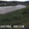 狩野川狩野川大橋ライブカメラ(静岡県伊豆市熊坂)