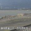 富士海岸昭和放水路ライブカメラ(静岡県富士市西柏原新田)