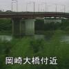 矢作川岡崎大橋ライブカメラ(愛知県岡崎市大門)