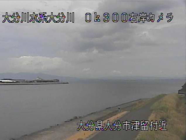 大分川津留ライブカメラは、大分県大分市の津留に設置された大分川が見えるライブカメラです。