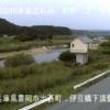 出石川伊豆橋下流ライブカメラ(兵庫県豊岡市出石町)