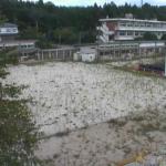 苅野小学校付近ライブカメラ(福島県浪江町苅宿)