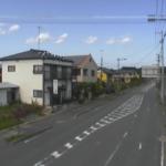 国道114号駅前通り交差点付近ライブカメラ(福島県浪江町権現堂)