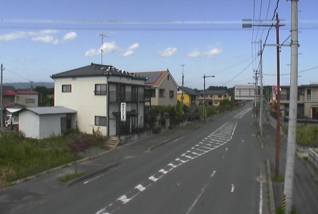 国道114号駅前通り交差点付近ライブカメラは、福島県浪江町権現堂の国道114号駅前通り交差点付近に設置された国道114号(富岡街道)が見えるライブカメラです。