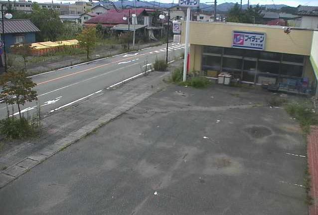 新山第一分団屯所前ライブカメラは、福島県双葉町新山の新山第一分団屯所前に設置された国道288号(都路街道)が見えるライブカメラです。