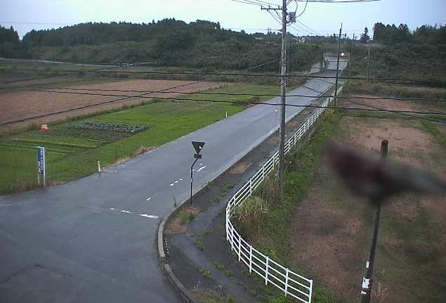 諸沢橋北十字路ライブカメラは、福島県富岡町本岡の諸沢橋北十字路に設置された富岡町道が見えるライブカメラです。