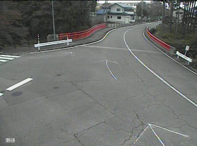 石川県道161号大杉長谷線瀬領ライブカメラは、石川県小松市瀬領町の瀬領に設置された石川県道161号大杉長谷線が見えるライブカメラです。