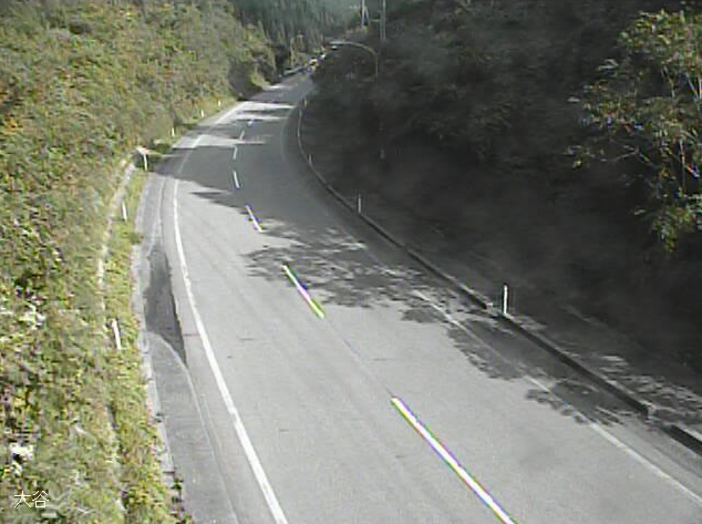 国道249号大谷峠ライブカメラは、石川県珠洲市馬緤町の大谷峠に設置された国道249号が見えるライブカメラです。